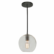 JVI Designs 1300-18-G6 Grand Central Gun Metal Finish 8  Tall Mini Drop Ceiling Lighting
