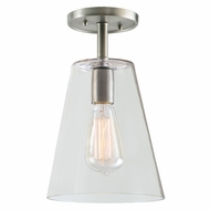 JVI Designs 1301-17-G2 Grand Central Pewter Finish 7.5 Wide Ceiling Lighting Fixture