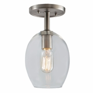 JVI Designs 1301-17-G3 Grand Central Pewter Finish 11 Tall Ceiling Light Fixture