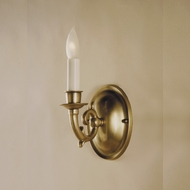 JVI Designs 218 7 Inch Tall Transitional Candle Sconce Lighting Fixture