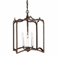 JVI Designs 3002 Large Antique Style 19 Inch Tall Pendant Light Fixture