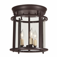 JVI Designs 3018 3 Candle Transitional Style 10 Inch Diameter Overhead Lighting