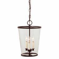 JVI Designs 3051-08 Small Oil Rubbed Bronze 10 Inch Wide Lighting Pendant