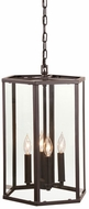 JVI Designs 3059-08 George Oil Rubbed Bronze 20  Foyer Lighting Fixture