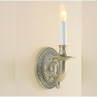 JVI Designs 307 9 Inch Tall Traditional Wall Mounted Sconce With Finish Options