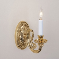 JVI Designs 317 7 Inch Tall Traditional Style Candle Wall Sconce