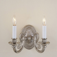 JVI Designs 318 Traditional Style 2 Candle Wall Mounted Sconce Lighting