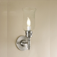 JVI Designs 326 6 Inch Tall Candle Wall Lighting Fixture - Transitional