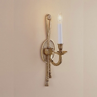 JVI Designs 554 15 Inch Tall Traditional Wall Sconce Light Fixture With Finish Options