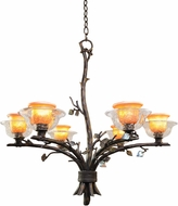 Kalco 2522 Cottonwood Rustic Halogen Lighting Chandelier