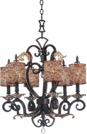 Kalco 2571 Chesapeake Traditional Mini Chandelier Light