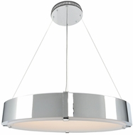 Kalco 300052 Halo Modern LED 35  Hanging Lamp