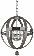 Kalco 300483CH Sharlow Modern Chrome Pendant Light Fixture