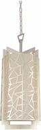 Kalco 303551RS Miramar Contemporary Rose Silver Foyer Lighting