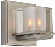 Kalco 306431SN Naples Modern Satin Nickel Xenon Wall Lighting