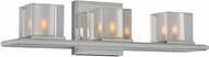 Kalco 306433CH Naples Contemporary Chrome Xenon 3-Light Bath Lighting