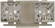 Kalco 308632SN Norwalk Modern Satin Nickel Xenon 2-Light Bathroom Lighting Fixture