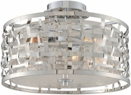 Kalco 308740SL Bridgeport Modern Brushed Stainless Steel Ceiling Lighting
