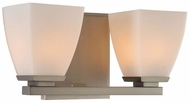 Kalco 310632SN Huntington Satin Nickel Xenon 2-Light Bath Sconce