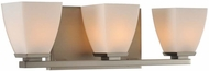 Kalco 310633SN Huntington Satin Nickel Xenon 3-Light Vanity Lighting Fixture