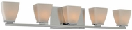 Kalco 310635CH Huntington Chrome Xenon 5-Light Bath Wall Sconce