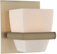Kalco 311631BRB Malibu Brushed Bronze Xenon Wall Sconce Lighting