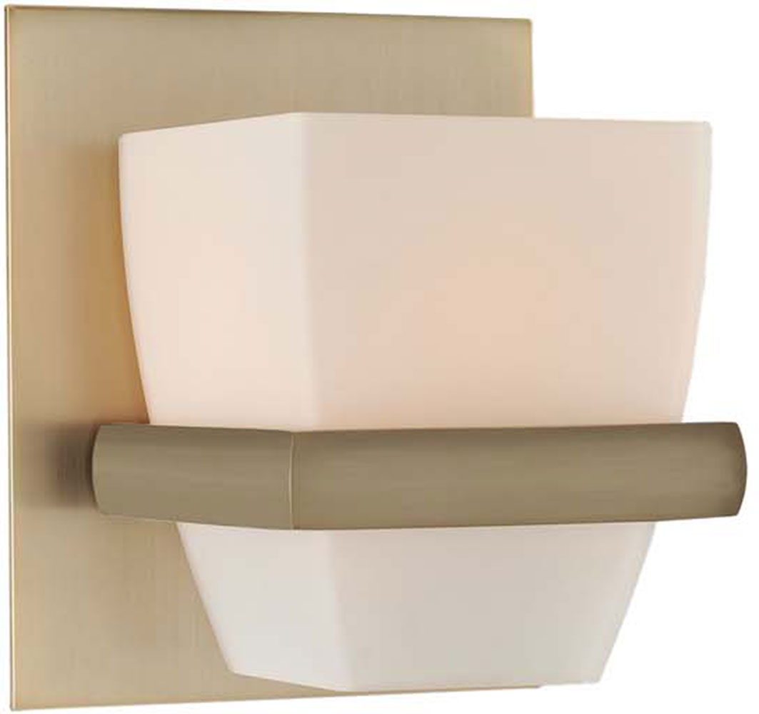 Kalco 311631BRB Malibu Brushed Bronze Xenon Wall Sconce Lighting - KAL-311631BRB