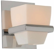 Kalco 311631CH Malibu Chrome Xenon Wall Light Fixture