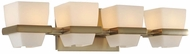 Kalco 311634BRB Malibu Brushed Bronze Xenon 4-Light Bathroom Lighting