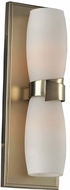 Kalco 311822SG Laguna Contemporary Satin Gold Xenon Lighting Wall Sconce