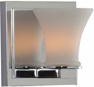 Kalco 312031CH Morro Bay Modern Chrome Xenon Wall Lighting Sconce
