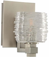 Kalco 312131SN Clearwater Modern Satin Nickel Xenon Wall Mounted Lamp