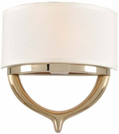 Kalco 312620TCG Bombay Contemporary 2-Tone Champagne Gold Wall Sconce