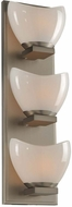Kalco 313003SN Vero Modern Satin Nickel Xenon Bathroom Light Sconce