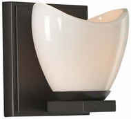 Kalco 313031EB Vero Contemporary English Bronze Xenon Wall Lighting