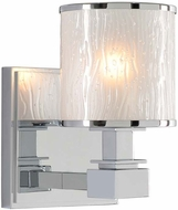 Kalco 313531CH Destin Chrome Xenon Lighting Sconce
