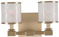 Kalco 313532BRB Destin Brushed Bronze Xenon 2-Light Bath Lighting