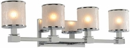 Kalco 313534CH Destin Chrome Xenon 4-Light Bath Light Fixture