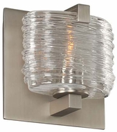 Kalco 313731SN South Bay Contemporary Satin Nickel Xenon Wall Sconce Lighting