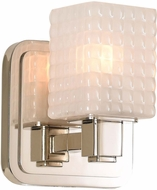 Kalco 313931PN Avanti Contemporary Polished Nickel LED Lamp Sconce