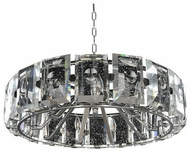 Kalco 390454SL Giada Contemporary Stainless Steel 30  Pendant Lighting