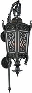 Kalco 401121GI Belcastro Old World Gilded Iron Exterior Large Wall Mounted Lamp