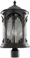 Kalco 401302BB Lago Traditional Burnished Bronze Exterior Lamp Post Light