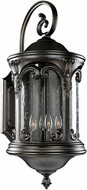 Kalco 401322BB Lago Traditional Burnished Bronze Outdoor Medium Wall Light Sconce
