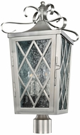 Kalco 402200SL Trellis Stainless Steel Exterior Post Light
