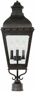 Kalco 403300AI Winchester Aged Iron Exterior Lighting Post Light