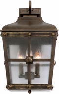 Kalco 403422AGB Sherwood Aged Bronze Outdoor Medium Wall Lighting Sconce