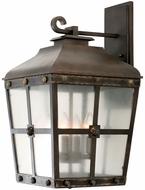 Kalco 403423AGB Sherwood Aged Bronze Exterior Large Wall Sconce Lighting