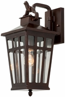 Kalco 403621OR Piedmont Old Rust Outdoor Small Wall Sconce Light