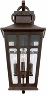 Kalco 403622OR Piedmont Old Rust Exterior Medium Wall Sconce